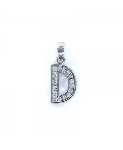 -Colgante Letters inicial D...
