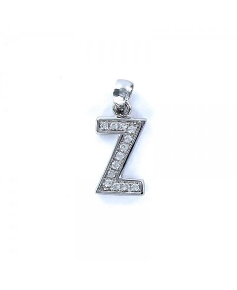 -Colgante Letters inicial Z...