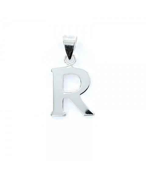 Colgante liso inicial R
