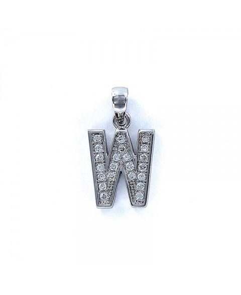 Colgante Letters inicial W...