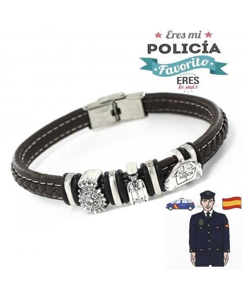 14 Pulsera Eres mi Policia...