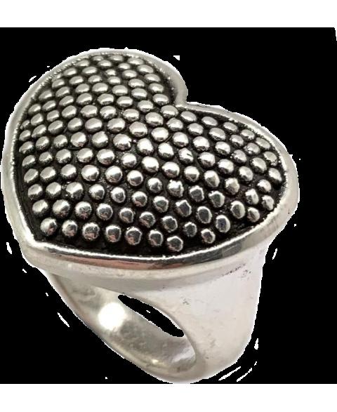 Anillo Corazón electroformi
