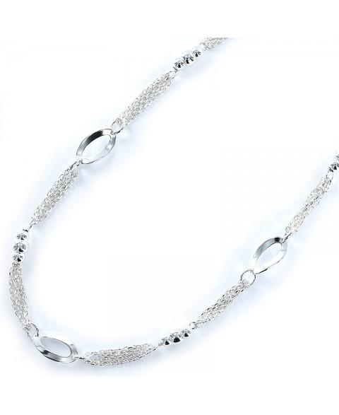 Collar de plata con cadena...