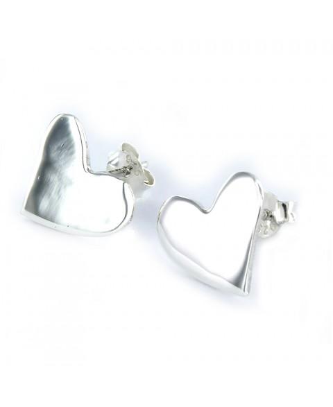 Pendiente Love de plata...