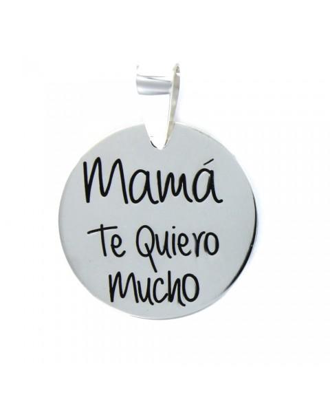 Colgante Mamá disco Mamá te...