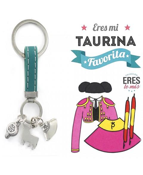15 Llavero Eres mi Taurina...