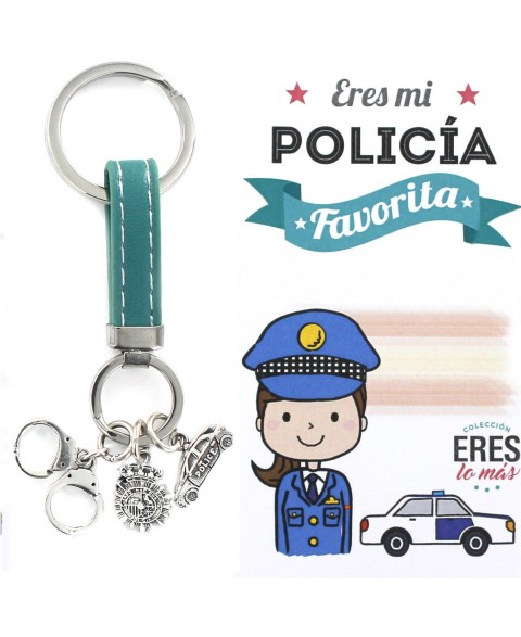 17 Llavero Eres mi Policia...