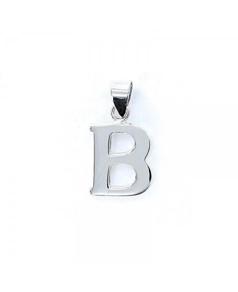 Colgante liso inicial B
