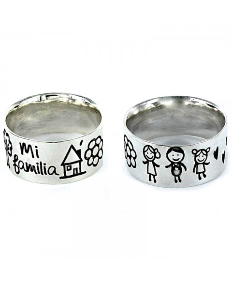 Anillo My Family pareja con...
