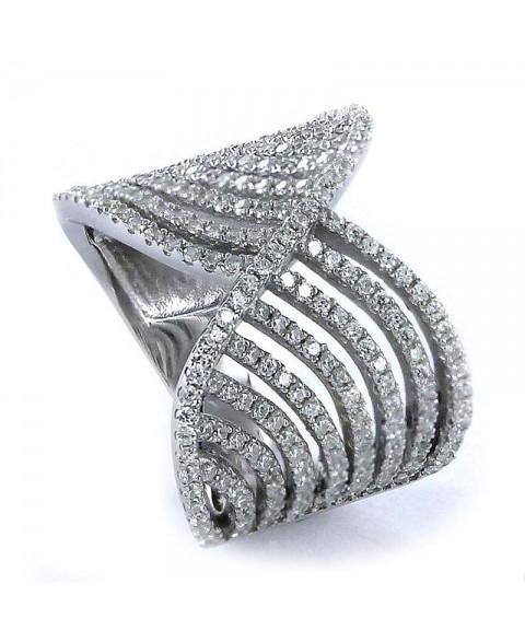 Anillo Elegance de plata y...