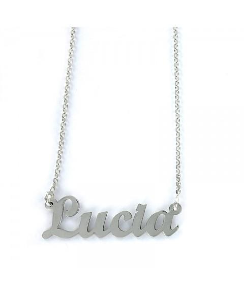 Colgante My Name Lucía con...