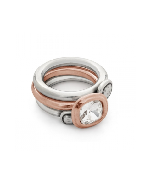 Anillo solitario Rose de...